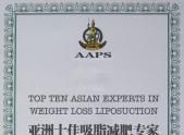 亚洲十佳吸脂减肥专家