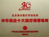 中华美业十大医疗美容机构