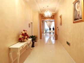 上海玫瑰整形医院走廊一角