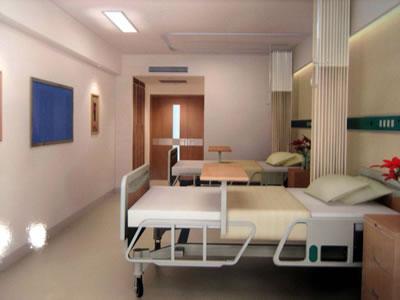 山东大学齐鲁医院病房图片