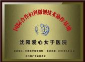 国际合作妇科微创技术协作基地