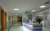 医院大厅一角