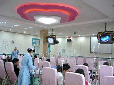 保定现代女子医院整形输液大厅