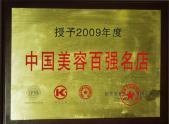 2009年度中国美容百强名店