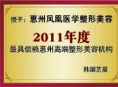 2011年度最具信赖整形美容机构