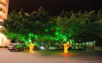 广州廉江人民医院夜景