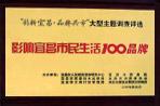 影响宜昌市民生活100品牌