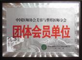 中国医生协会美容与整形医师分会团体会员单位