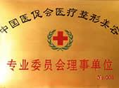 中国医促会医疗整形美容 专业委员会理事单位