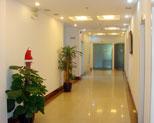 民航上海医院走廊
