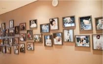韩国W-star整形外科医院明星墙
