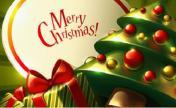 圣诞快乐  美丽女人