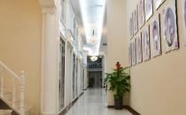 郑州芳艺整形医院走廊