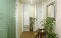 韩国眼鼻美人整形外科医院走廊
