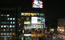 韩国赫尔希整形外科医院建筑外部照片(夜景)
