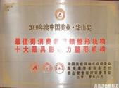 2010年度中国美业·华山奖