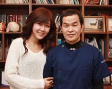 MBC《section tv演艺通信》李泰英与郝尔希整形外科院长郑永春