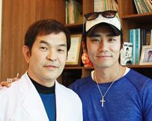 KBS《爱情和战争》演员李政勋与郝尔希整形外科院长郑永春