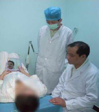 携巨乳作战不便 阿富汗女军官赴北京清木整形