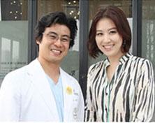 主持人金成静来访韩国丽珍整形医院