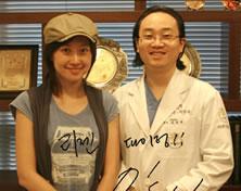 主持人林成敏来访韩国丽珍整形医院