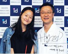 韩国名模姜承贤和ID医院朴相薰院长合影