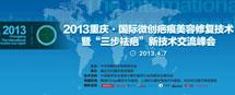 """重庆·国际微创疤痕修复术暨""""三步祛疤""""交流峰会即将召开"""