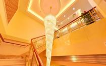 上海伊莱美五楼水晶灯