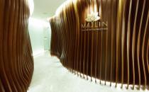 韩国媄潾整形医院走廊