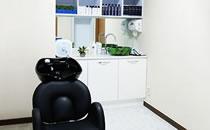 韩国毛尚毛发移植医院洗发室