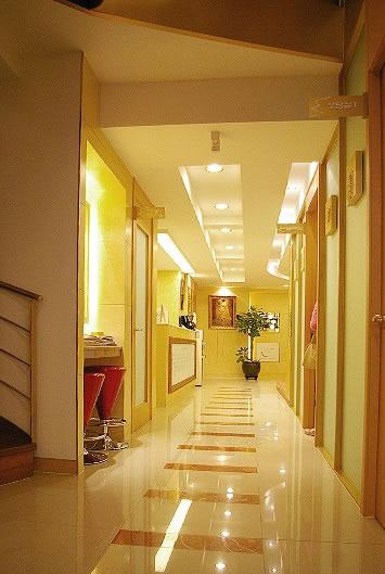 韩国ck整形外科医院走廊
