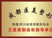美容整形协会王显荣副会长指导单位