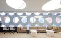 韩国Newface医院大厅等候处