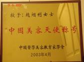 中国美容与整形'白天鹅'奖