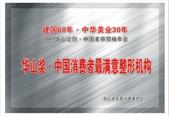 华山奖·中国消费者最满意整形机构