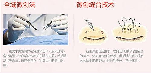 美莱独创双眼皮技术