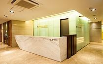韩国jp毛发移植中心化妆室