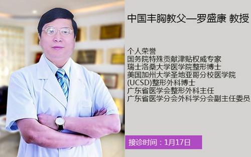 中国丰胸教父——罗盛康教授