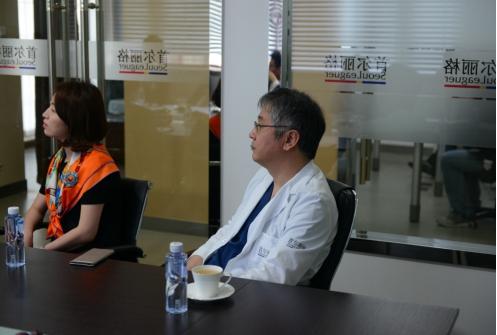 奥地利知名制药企业CROMA-PHARMA访问首尔丽格