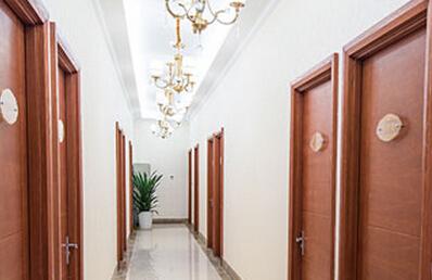 温州东方女子整形医院走廊