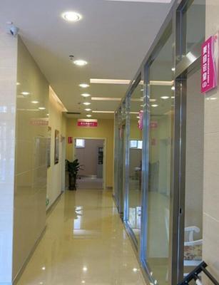 营口协和整形美容医院走廊