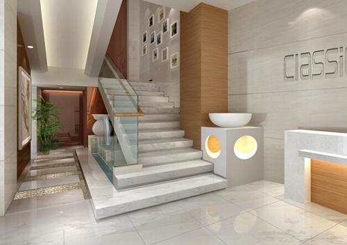 澳玛国际医疗美容医院楼梯拐角