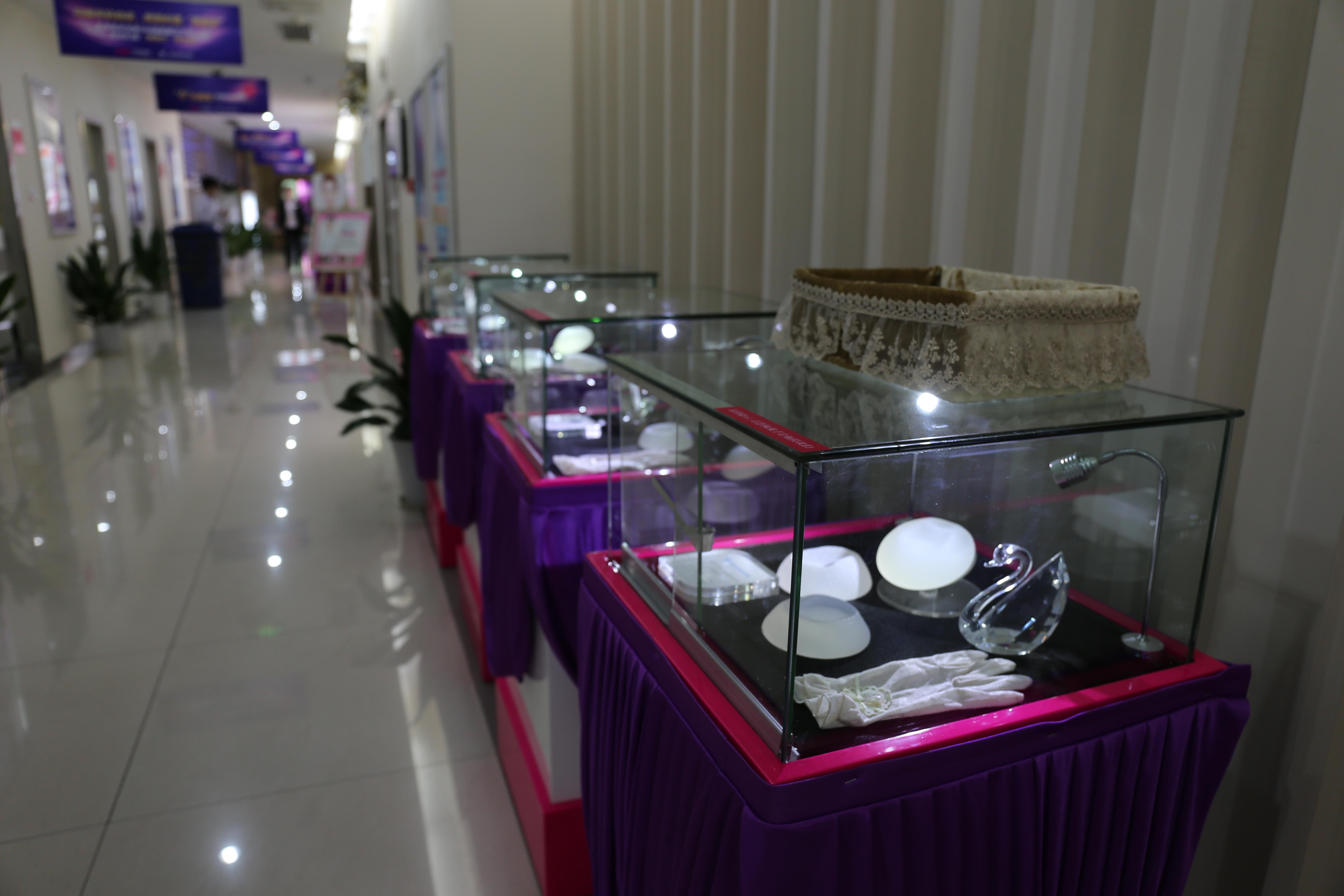 长沙雅美假体展示区