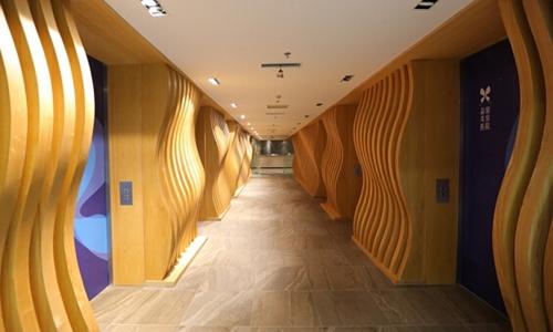 丹东晶馨美容医院走廊