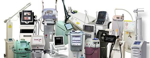 拥有20多台高端医疗机器