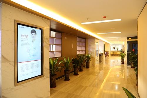 新疆整形医院走廊