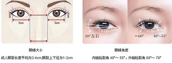 好看眼睛美学标准