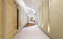 郑州艾媚尔整形医院走廊