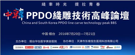 中韩PPDO线雕高峰论坛