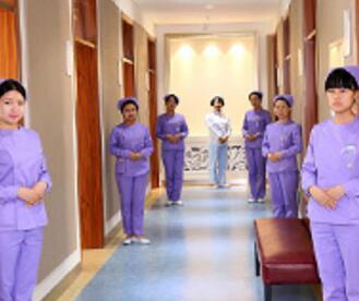 丹东第一医院整形科走廊